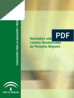 Normativa Centros Mayores