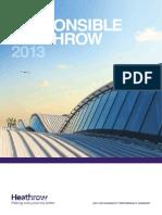 Responsible Heathrow Summary 2013