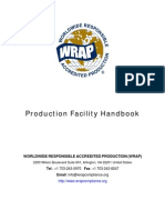 WRAP Certification Guidelines