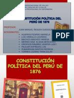 Constitución Política Del Perú de 1876