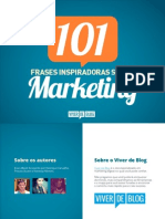 [Viver de Blog] eBook 101 Frases Marketing