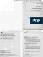 América Latina de La Independencia a La Segunda Guerra Mundial