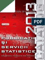 Anuarul Statistic Al Romaniei 2013