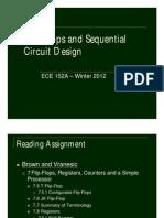 L7 - Flip-Flops and Sequential Circuit Design