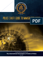 International Association of Chiefs of Police (IACP) - Police Chiefs Guide to Immigration Issues (July 2007)
