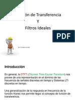 Idfd 11 Funcion de Transferencia y Filtros Ideales