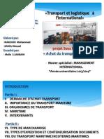 Achat Du Transport Maritime (MAROC)
