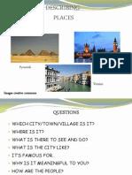 Describing Places