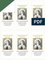 a5- Oracion a Santa Teresita Del Nino Jesus