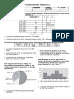 Prueba Escrita de Matemática Estadística0
