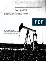 API Introduction of Oil and Gas Production