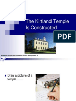 The Kirtland Temple is Constructed