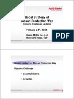 Nissan global challenge