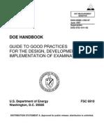 DOE HANDBOOK 1205 GUIDE TO GOOD PRACTICES