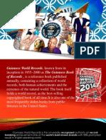 Guinness Book presentation