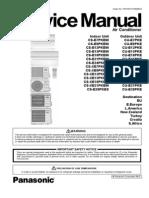Panasonic CS-XE7PKEW Service Manual