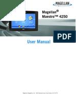 Maestro 4250 Manual