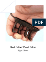 Bagh Nagh - The Indian Tiger Claw