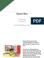 Space Boy -By N. Nangai