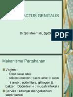 Infeksi TractNFEKSI TRACTUS GENITALIS.ppus Genitalis