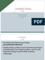 2.Retraktil Testis