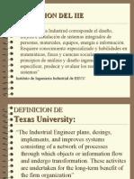 definiciones de ingeniería industrial