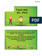 Test Personalidad Dr Phil