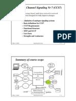 CCS7 Signalling Link