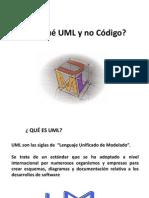 Porqué UML y No Código