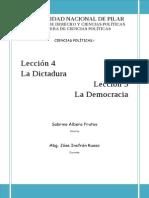 Ciencias Políticas I Unidad IV y V