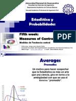 05 Statistics Week Medidas Tend Central