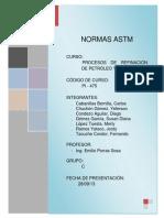 Normas ASTM