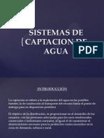 Diapositivas Sistemas de Captacion de Agua