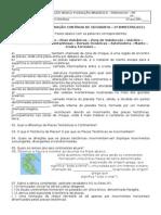 58766828 Lista de Exercicios Placas Tectonic As