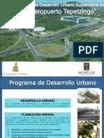 Programa de Desarrollo urbano XOCHITEPEC