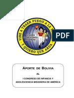 Aporte de Bolivia Al I Congreso de La Iam 2014