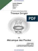 1 Travaux Diriges Corriges Mecanique Des Fluides