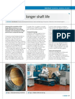Bearings for Longer Shaft Life