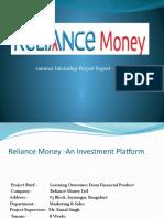 Dip Reliance Money