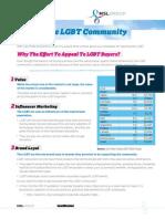 Reaching The LGBT Community