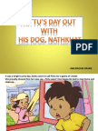 Gattu's Day Out With His Pet Dog Nathkhat - Anuradha Rajan