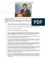 Obras Del Presidente Alejandro Toledo