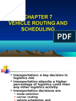 Chapter 7 Vehicle Routing and Scheduling