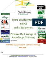 23rd May,2014 Daily Exclusive ORYZA E-Newsletter by Riceplus Magazine