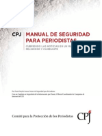 91532466 Manual de Seguridad Para Periodistas