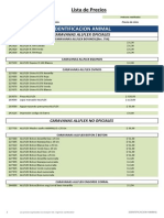 Lista de Precios Villanueva 16-09-2013 Villa Nueva