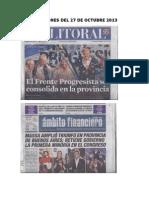 Elecciones Del 27 de Octubre 2013