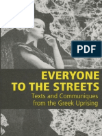 56a Infoshop - Everyone to the Streets - Texts and Communiques From the Greek Uprising