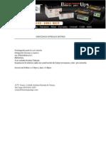 Direccion de Entrega de Baterias