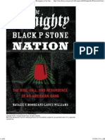 Almighty Black P Stone Nation the Rise Fall and Resurgence of an American Gang